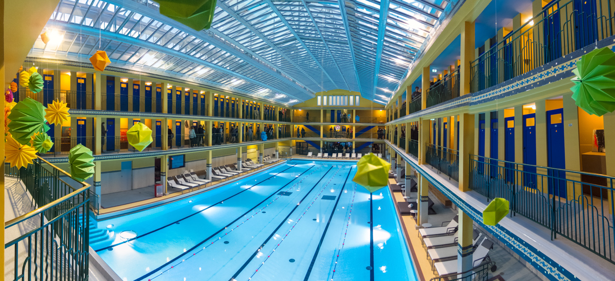 Piscine molitor the iconic paris luxury swimming pool of for Molitor swimming pool paris