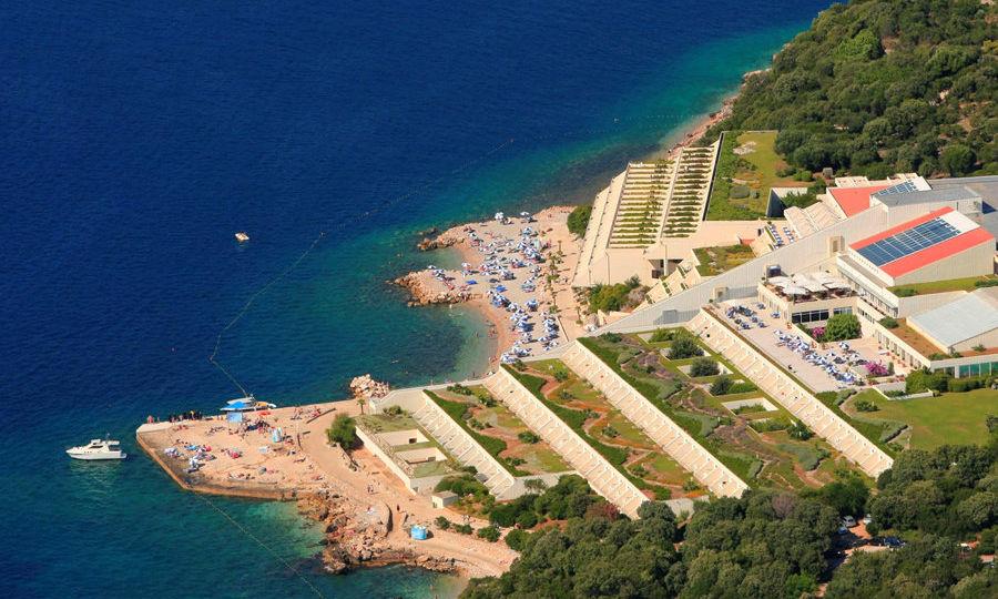 Valamar_Dubrovnik_President_airview